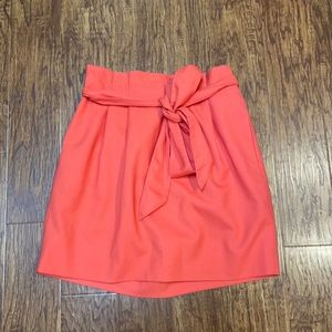 J. Crew Factory Pleated Sash Skirt size 12